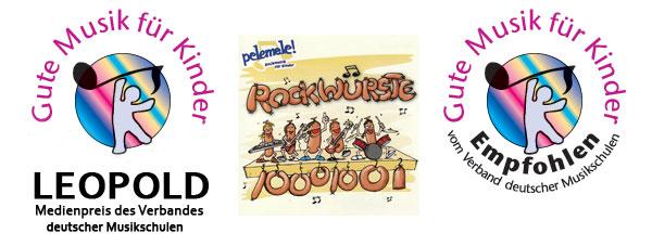 Pelemele LEOPOLD 2009 'Gute Musik für Kinder' bei Müllers Büro